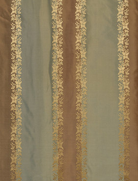 Dover Multi Stripe Designer Silk Swatch