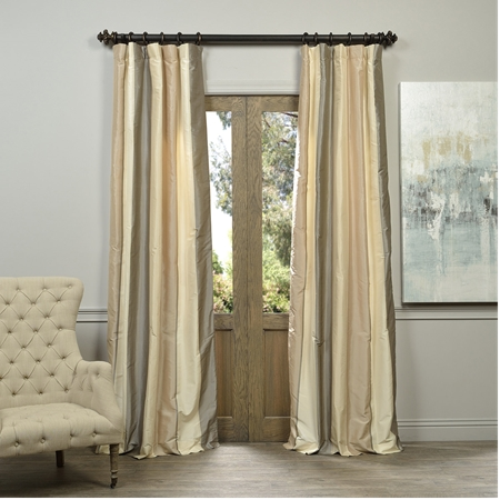 Fleet Multi Stripe Designer Silk Curtain