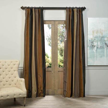 Ripon Multi Stripe Designer Silk Curtain