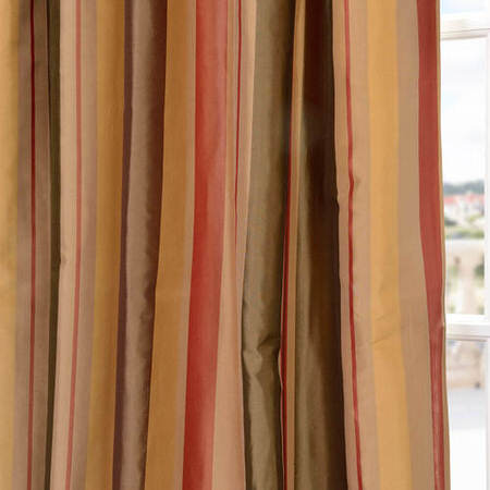Pacific Heights Silk Stripe Swatch