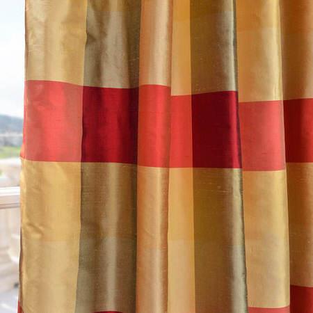 Dynasty Silk Plaid Swatch