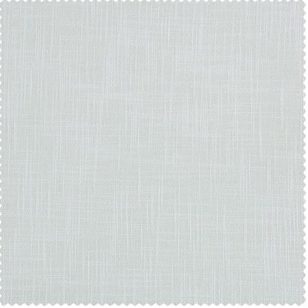 White Heavy Faux Linen Swatch