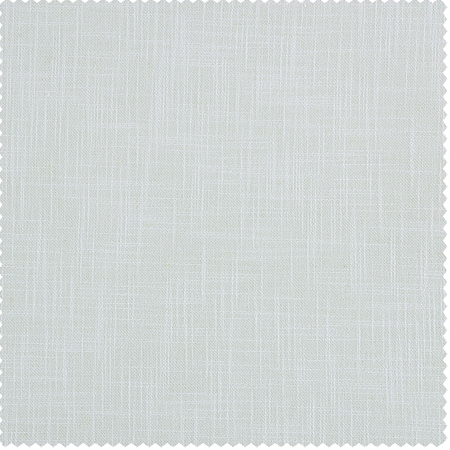 White Heavy Faux Linen Swatch