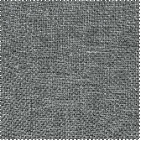 Pewter Grey Heavy Faux Linen Swatch