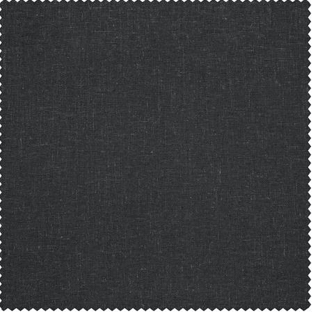 Slate Grey Heavy Faux Linen Swatch