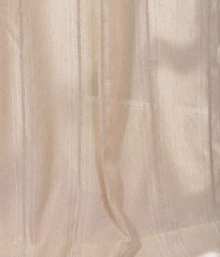 Trinidad Natural Linen Blend Stripe Swatch