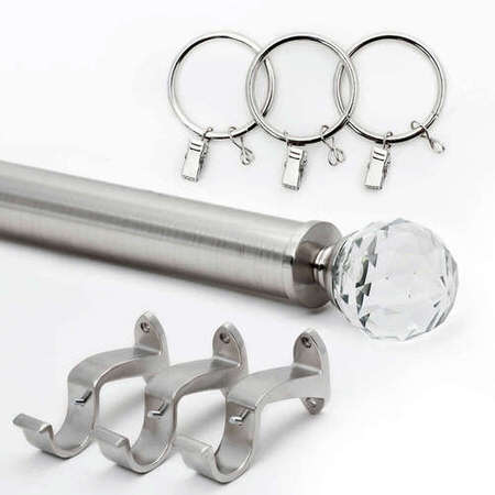 Glass Prism Rod Set - Nickel