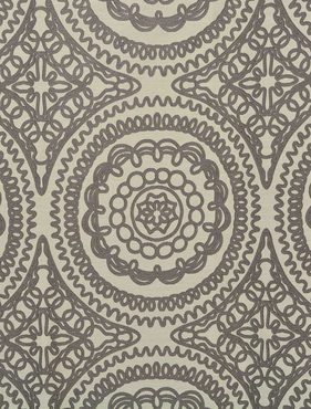 Radial Faux Silk Jacquard Swatch