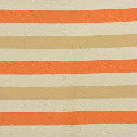 Creamsicle Horizontal Stripe Jacquard Swatch