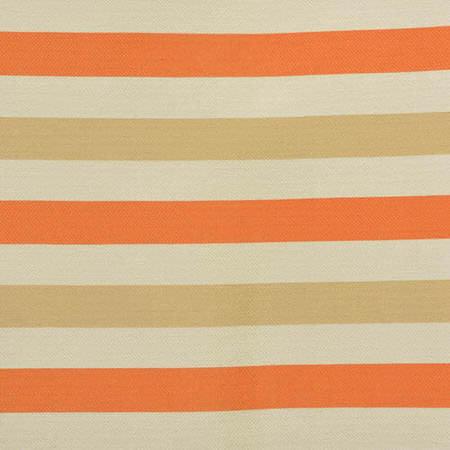 Creamsicle Horizontal Stripe Jacquard Swatch