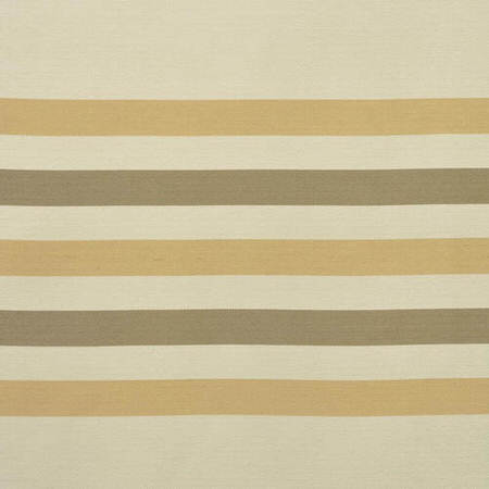 Madison Pastal Yelllow And Cream Horizontal Stripe Jacquard Swatch