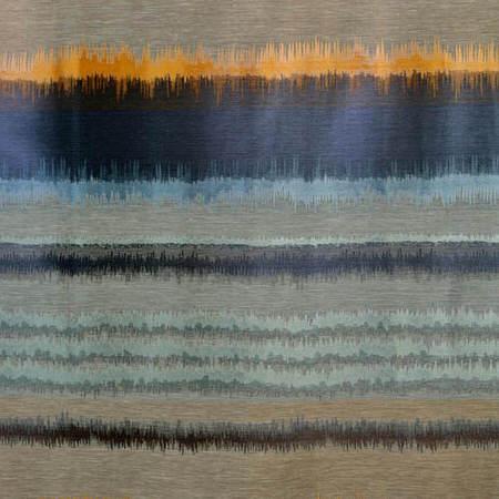 Blue Horizon Faux Silk Jacquard Swatch