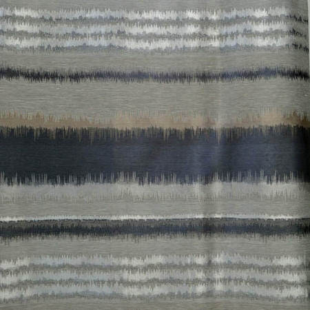 Eden Grey Black Faux Silk Jacquard Swatch