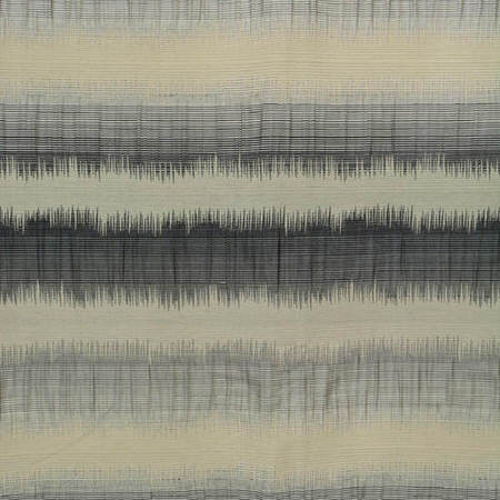 Hazey Sunset Horizontal Stripe Faux Silk Jacquard Swatch