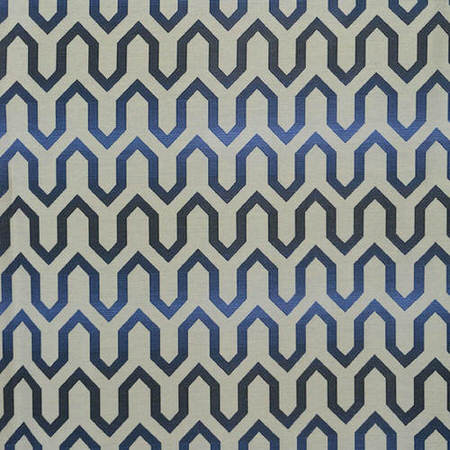 Cascade Blue Faux Silk Jacquard Swatch