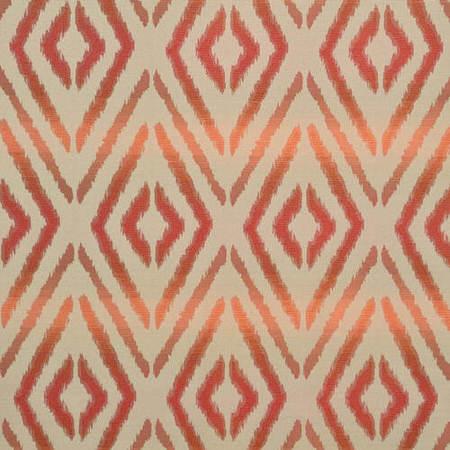 Maui Coral Faux Silk Jacquard Swatch
