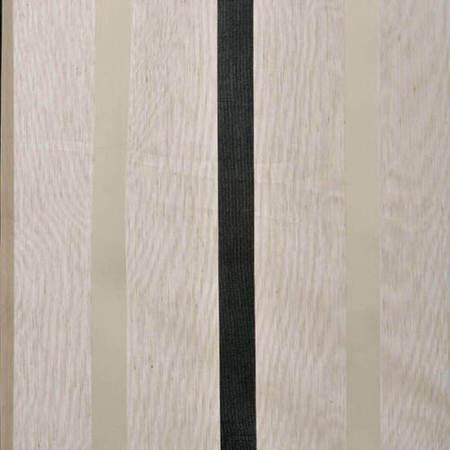 Carlton Natural Linen Blend Stripe Sheer Swatch
