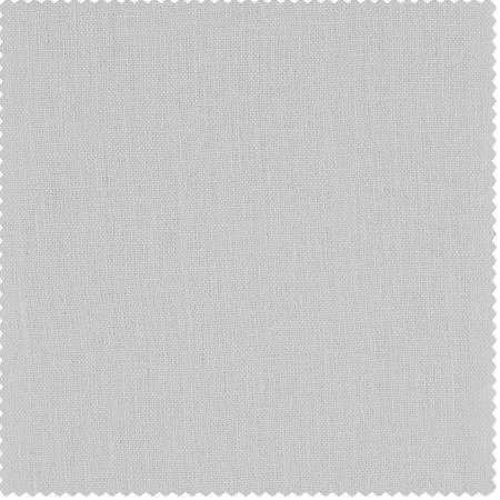 Crisp White French Linen Swatch