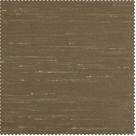 Warm Stone Vintage Textured Faux Dupioni Silk Swatch