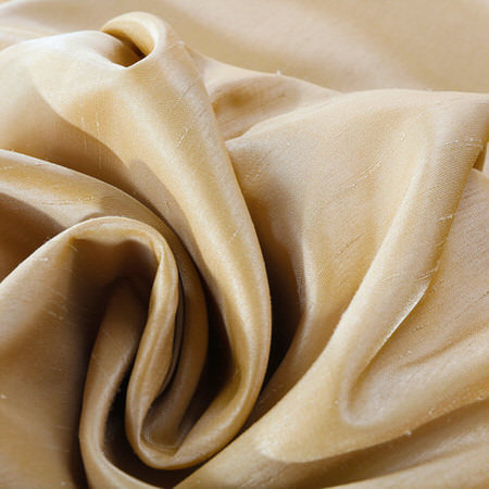 Butternut Vintage Textured Faux Dupioni Silk  Swatch