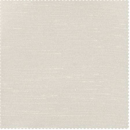 Mist Grey Vintage Textured Faux Dupioni Silk Swatch