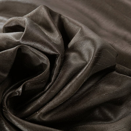 Urban Grey Vintage Textured Faux Dupioni Silk Swatch