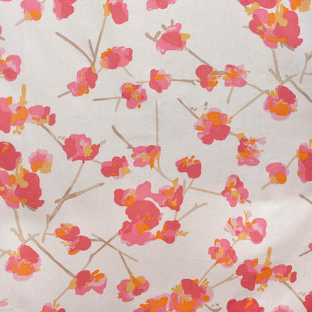 Dogwood Rose Printed Cotton Swatch