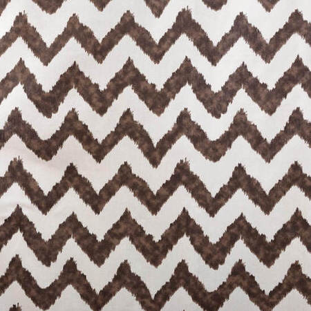 Calipso Brown Printed Cotton Swatch
