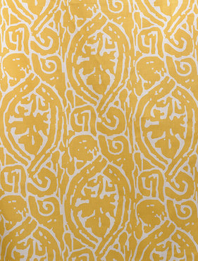 Zambia Corn Printed Cotton Swatch