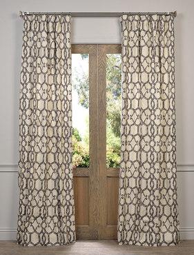 Ashford Printed Cotton Curtain