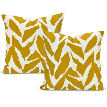 Sahara Desert Printed Cotton Cushion Cover (Pair)