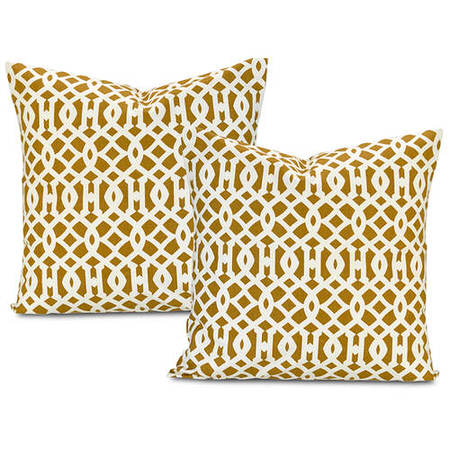 Nairobi Desert Printed Cotton Cushion Cover (Pair)
