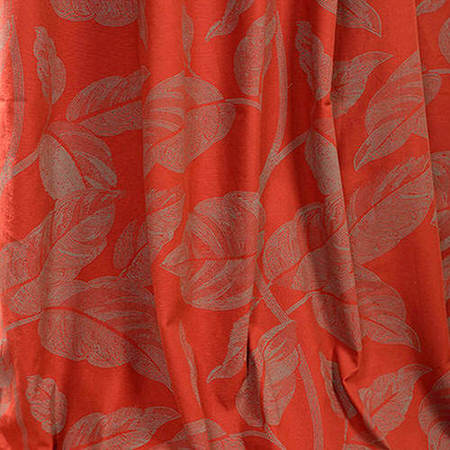 Bali Red Printed Cotton Swatch