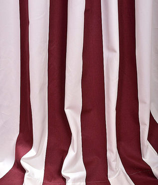 Cabana Burgundy Printed Cotton Swatch