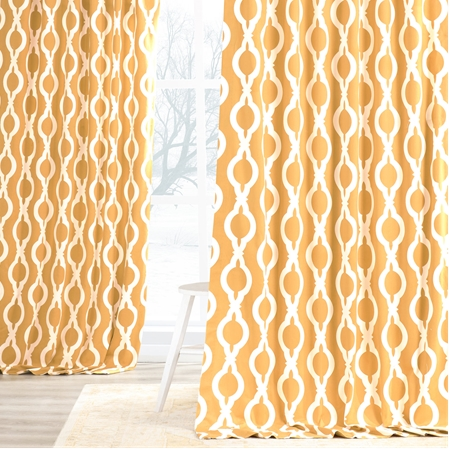Medina Printed Cotton Curtain
