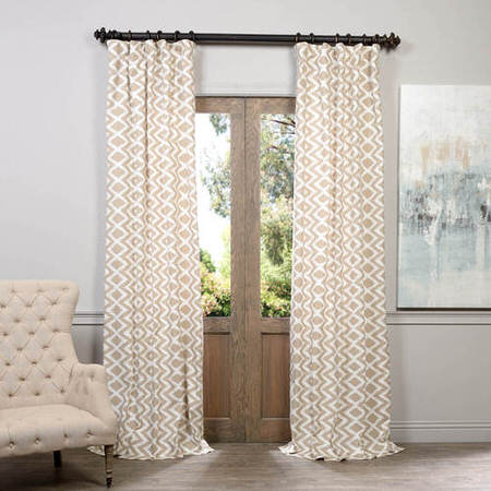 Palu Printed Cotton Curtain