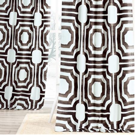 Mecca Printed Cotton Curtain