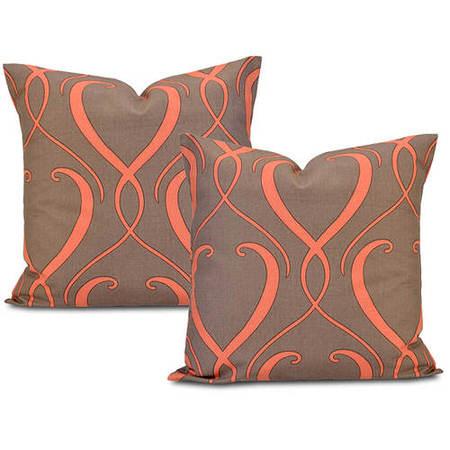Panama  Printed Cotton Cushion Cover (Pair)