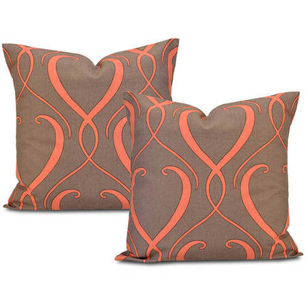 Panama  Printed Cotton Cushion Cover (Pair)