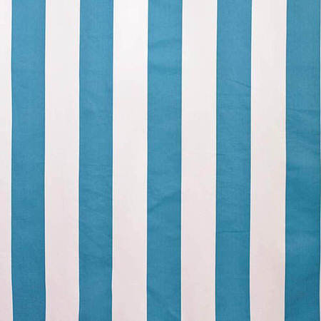 Cabana Teal Printed Cotton Swatch