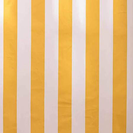 Cabana Yellow Printed Cotton Swatch