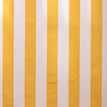 Cabana Yellow Printed Cotton Swatch