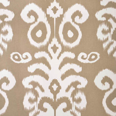Sri Lanka Dove Grey Printed Cotton Twill Swatch