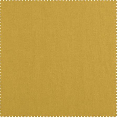 Mustard Yellow Cotton Twill Swatch