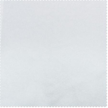 White Faux Solid Taffeta Swatch