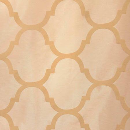 Marakesh Bone Flocked Faux Silk Taffeta Swatch