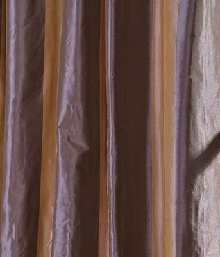 Verona Faux Silk Taffeta Stripe Swatch