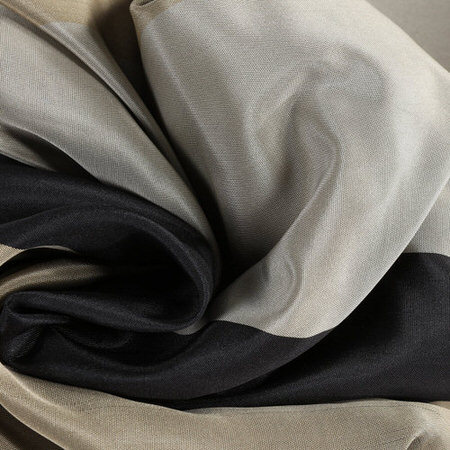 Sake Faux Silk Taffeta Stripe  Swatch