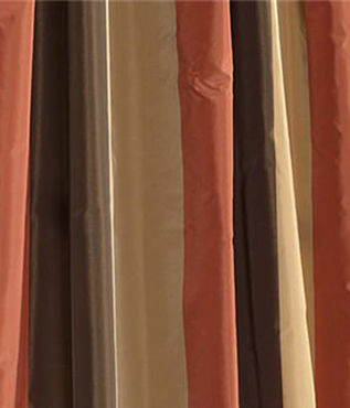 Burma Faux Silk Taffeta Stripe Swatch