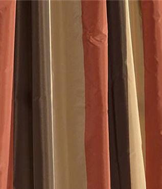 Burma Faux Silk Taffeta Stripe Swatch